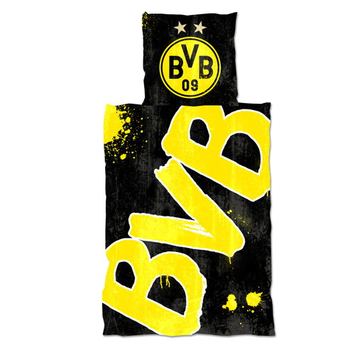 Borussia Dortmund Sängkläder Glow in the Dark