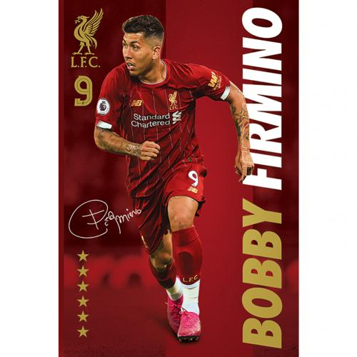 Liverpool Poster Firmino 35