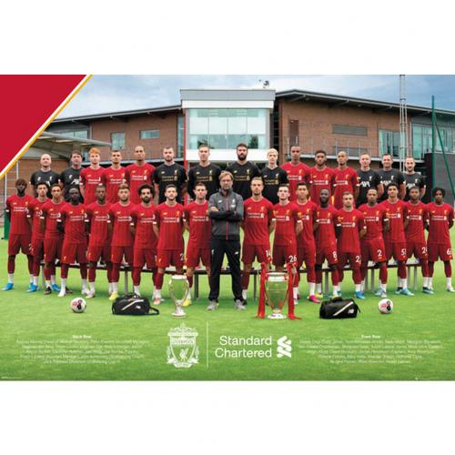 Liverpool Poster Squad 37