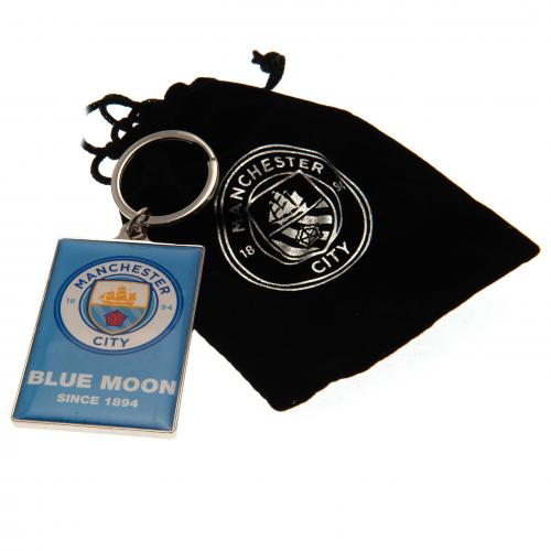 Manchester City Nyckelring Deluxe
